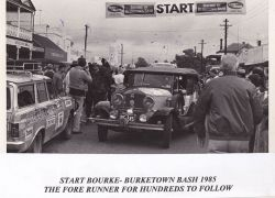 Start Bourke to Bourketown Bash 1985